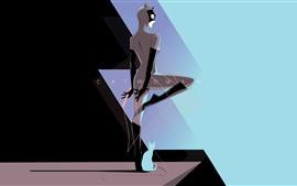 Mulher-gato, super-herói, DC Comics