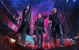 Preview wallpaper Devil May Cry 5, PS4 game