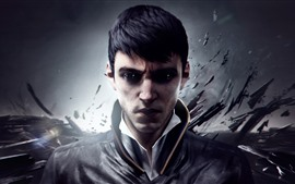 Preview wallpaper Dishonored 2, video game, man