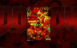 Preview wallpaper Doom, game art picture