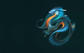 Preview wallpaper Dragon, fantasy animal