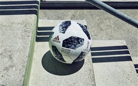 Preview wallpaper Football, stairs