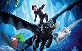 Preview wallpaper How to Train Your Dragon 3