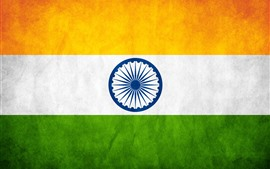 Preview wallpaper India flag