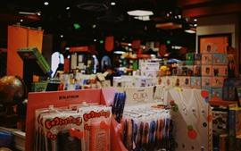 预览壁纸 商店,货物