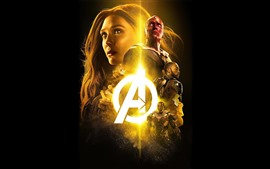 The Avengers, superheroes, Marvel movie, black background