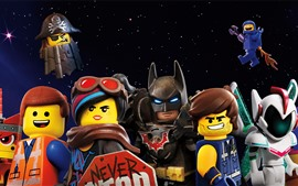 Preview wallpaper The Lego Movie 2: The Second Part