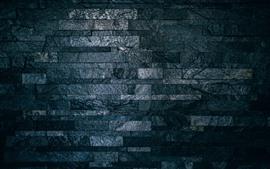 Aperçu fond d'écran Mur, briques, texture, gris