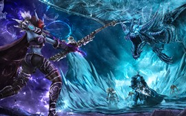 Preview wallpaper World of Warcraft, Lich King, archer, monster