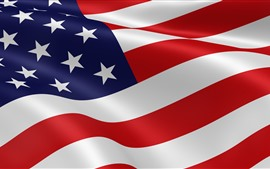 Preview wallpaper American flag