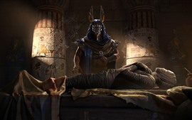 Preview wallpaper Assassin's Creed: Origins, Egypt, pharaoh, mummy