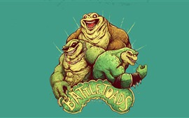 Preview wallpaper Battletoads, video game