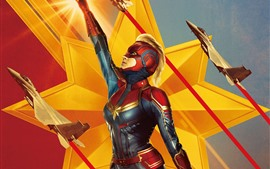 Preview wallpaper Captain Marvel, 2019 movie