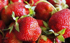 Preview wallpaper Fresh strawberry, berries, fruit, delicious
