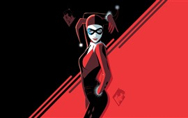 Preview wallpaper Harley Quinn, DC comics, art picture
