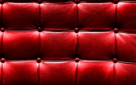 Surface du cuir, texture, rouge