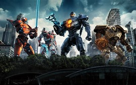 Preview wallpaper Pacific Rim: Uprising, some robots