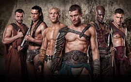 Preview wallpaper Spartacus: Blood and Sand, TV series