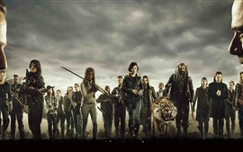 Preview wallpaper The Walking Dead, AMC TV series