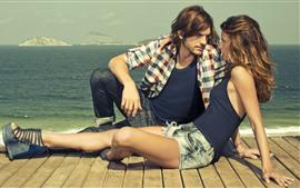 Ashton Kutcher e garota