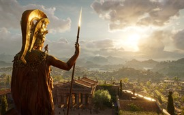 Preview wallpaper Assassin's Creed, Greece, palace, sunshine