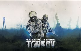 Preview wallpaper Escape from Tarkov, video game
