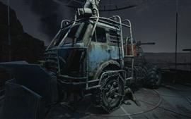 Metro Exodus, tractor