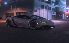 Need For Speed ​​Payback, superdeportivo Lamborghini blanco