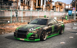 Preview wallpaper Nissan Skyline GT-R car