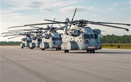 Preview wallpaper Sikorsky CH-53K heavy-lift cargo helicopter