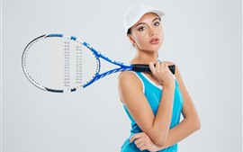 Preview wallpaper Sport girl, tennis