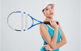 Menina do esporte, tênis