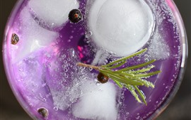 Tonic Rosemary, drinks, ice