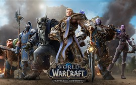 Preview wallpaper World of Warcraft: Battle for Azeroth, online games