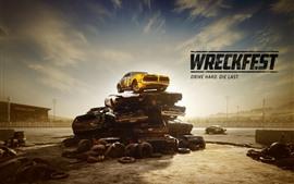 Aperçu fond d'écran Wreckfest, jeu de course