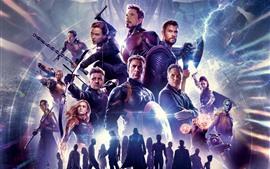 2019 фильм, Мстители 4: эндшпиль, Marvel супергероев