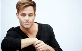 Preview wallpaper Chris Pine, actor