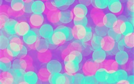 미리보기 배경 화면 다채로운 라이트 서클, 추상적인 배경