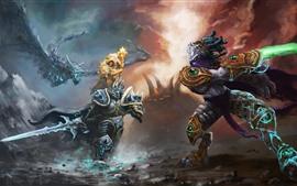 미리보기 배경 화면 히어로즈 오브 더 스톰, 워크래프트, 게임 아트 그림