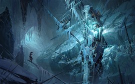 Preview wallpaper Rise of the Tomb Raider, ship, snow, winter