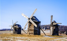 Preview wallpaper Ukraine, windmill