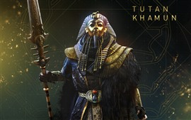Aperçu fond d'écran Assassin's Creed: Origins, La malédiction des pharaons, Toutankhamon