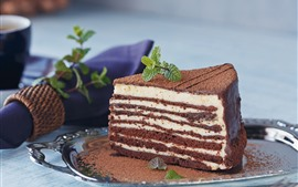 Preview wallpaper Chocolate cake, layers