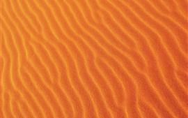 Preview wallpaper Desert, sands, curves