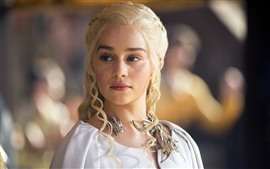 Aperçu fond d'écran Emilia Clarke, actrice, Game Of Thrones