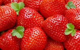 Preview wallpaper Fresh strawberries, red, fruits