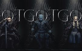 Juego de tronos, series de TV calientes.