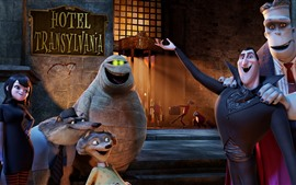 Preview wallpaper Hotel Transylvania, cartoon movie