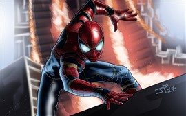 Preview wallpaper Spider-Man, DC Comic, superhero