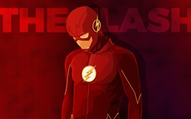 Preview wallpaper The Flash, superhero, DC comics